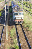 Romanian train Royalty Free Stock Images