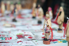 Romanian trinket doll Stock Photo