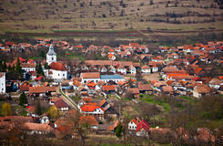 Romanian village Stock Image
