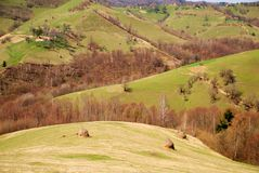 A romanian village Royalty Free Stock Photos