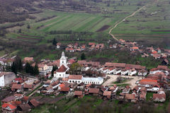 Romanian village Stock Photography