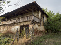 Romanian village. An abandoned house in the village of Ruptura, Mehedinți county, Romania Royalty Free Stock Photography