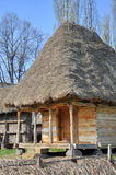 Romanian village house Stock Photography