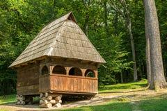 Romanian Village House Stock Photos