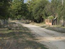 Romanian village Royalty Free Stock Image
