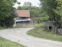 Romanian village Stock Image