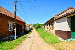 Romanian village Royalty Free Stock Image
