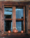 Romanian window2 Royalty Free Stock Images