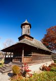 Romanian wooden church Stock Photography