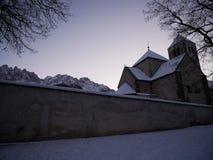 Romanic аббатство Innichen стоковые фотографии rf