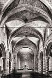 The romanic Cathedral of Sovana royalty free stock photo