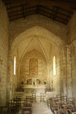 Romanic chapel - Crazannes - France. 04/24/11 Stock Photography