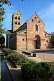 Romanic church in Alsace. Romanic church of Sigolsheim in Alsace Royalty Free Stock Photos