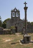 Romanic Church Stock Photo