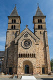 Romanic church in the historic centre of Echternach. Luxembourg Royalty Free Stock Images