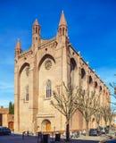 Romanic Church Saint Sernin, Toulouse stock photography