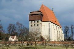 Romanic church of Sv. Jilji Stock Photos