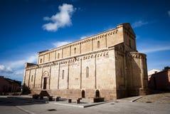 Romanic kościół Obrazy Royalty Free