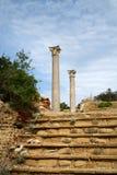 Romanic ruïnes Royalty-vrije Stock Fotografie