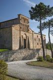 Romanische Gemeindekirche Stockfoto