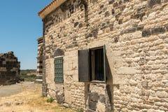 Romanische Kirche in Nord-Provinz Sardiniens Sassari Itay Stockbild