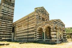 Romanische Kirche in Nord-Provinz Sardiniens Sassari Itay Stockbilder