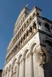 Romanische Kirche San Michele in foro Lizenzfreie Stockfotos