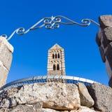 Romanische Kirche von Santa Trinita di Saccargia Lizenzfreies Stockfoto