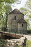 Romanisches Rundbau in Cieszyn Lizenzfreies Stockbild