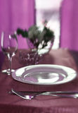 Romanitic Dinner Stock Photography