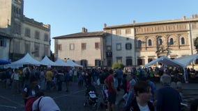 Romano Ιταλία Oriolo φεστιβάλ μανιταριών Porcini φιλμ μικρού μήκους