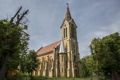 Romano-Catholic Church from Morahovita, Romania Royalty Free Stock Image