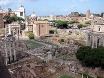 Romano de Foro Image stock