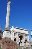 Romano de Foro Foto de archivo libre de regalías