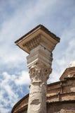 Romano de Foro em Roma, Itália Imagem de Stock