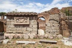 Romano de Foro en Roma, Italia Fotos de archivo libres de regalías