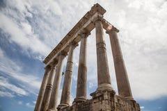 Romano de Foro en Roma, Italia Imágenes de archivo libres de regalías