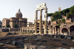 Romano de Foro, Roma Imagenes de archivo
