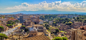Romano di Foro, Roma Fotografie Stock
