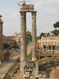 Romano diluito di foro di Colonna fotografia stock libera da diritti