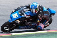 Romano Ferrati Moto3 Fotografering för Bildbyråer