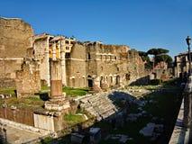 Romano Foro, ρωμαϊκό φόρουμ, Ρώμη, Ιταλία Στοκ φωτογραφία με δικαίωμα ελεύθερης χρήσης