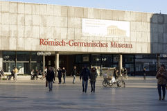 Romano Germanic Museum Cologne Royalty Free Stock Photo