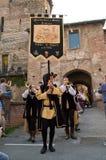 Romano Medievale 2014 Immagini Stock