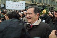 Romano Prodi stockfoto