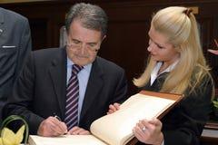 Romano Prodi Royalty Free Stock Photos