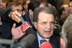 Romano Prodi Stock Photo