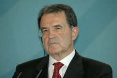 Romano Prodi stockbild