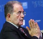 Romano Prodi Royalty-vrije Stock Afbeelding