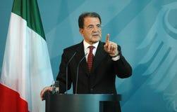 Romano Prodi Stock Images